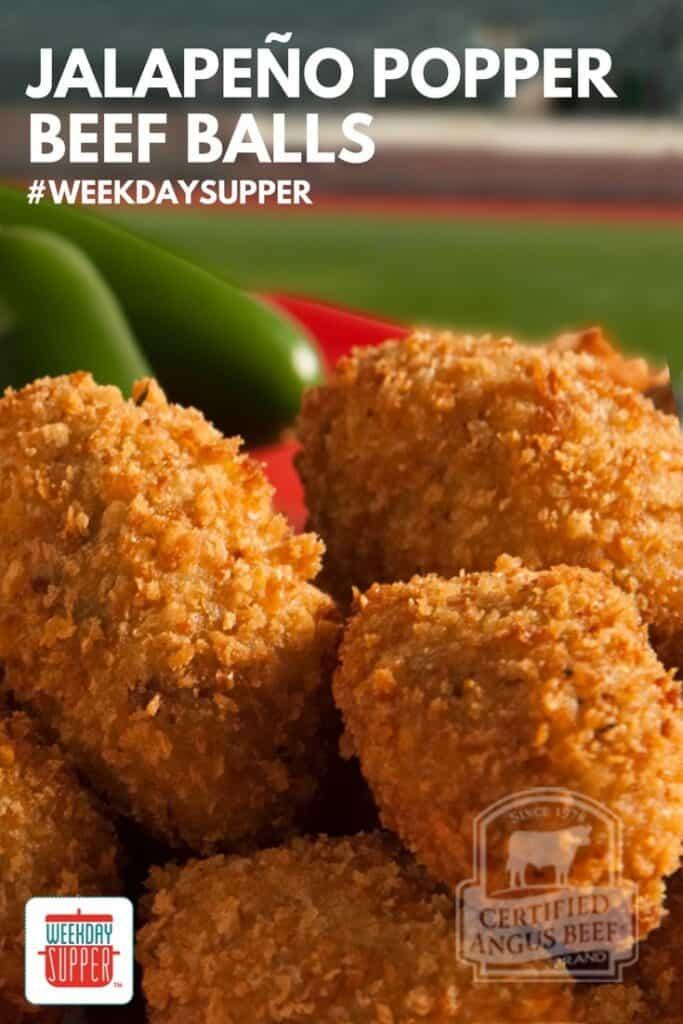 Jalapeño Popper Beef Balls #WeekdaySupper #BestBeef