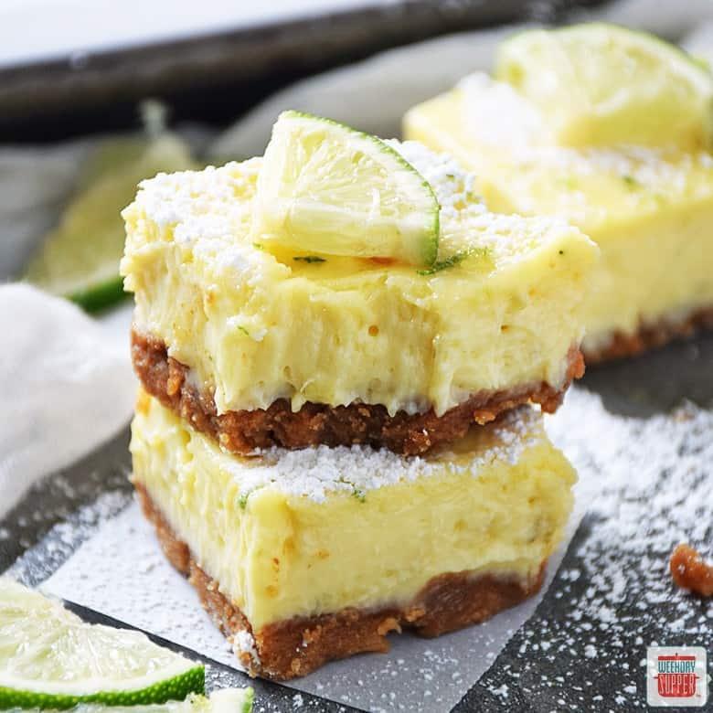 Key Lime Pie Squares
