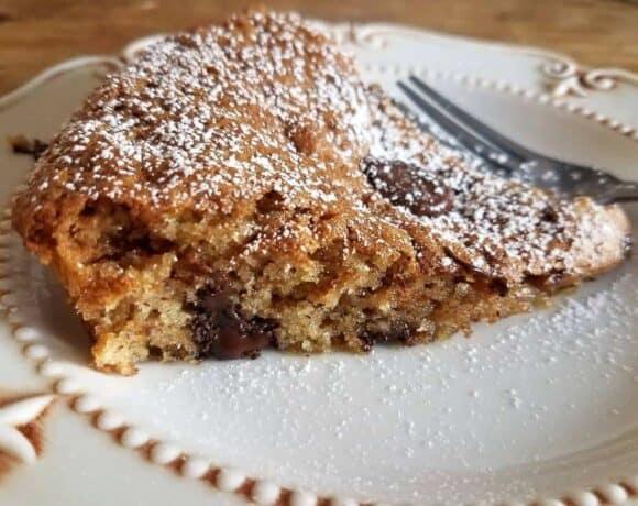 Chocolate Chip Amaretto Torte #WeekdaySupper
