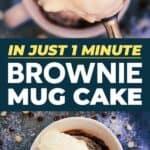 Brownie in a mug pin image