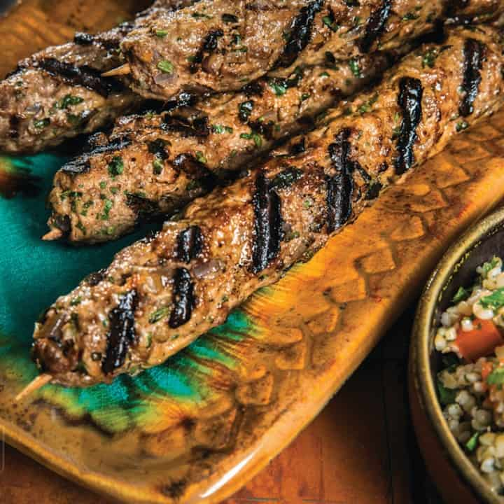 Sunday Supper recipes: Lebanese Style Beef Kabobs #WeekdaySupper #BestBeef