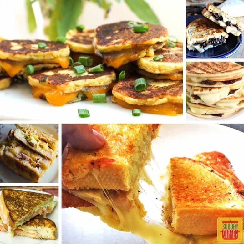 Sunday Supper Grilled Cheese Sandwich Recipes #SundaySupper