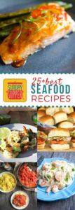 25+ Best Sunday Supper Seafood Recipes #SundaySupper