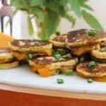 Potato Patty Grilled Cheese Bites #SundaySupper