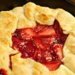 Rustic Strawberry Tart #WeekdaySupper #FLStrawberry