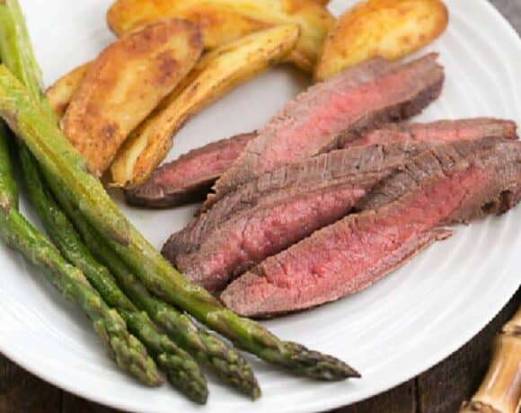 Sunday Supper recipes: Soy Orange Juice Red Wine Marinated Steak #WeekdaySupper #BestBeef
