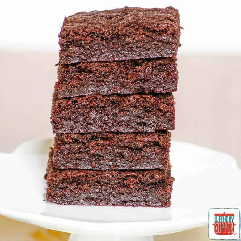 Sunday Supper recipes: Coconut Oil Brownies #WeekdaySupper