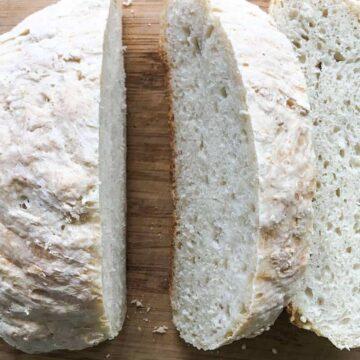 Peasant Bread Master Recipe #SundaySupper