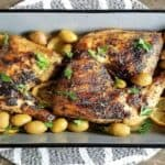 Baked Green Olive Chicken from Ripe Recipes