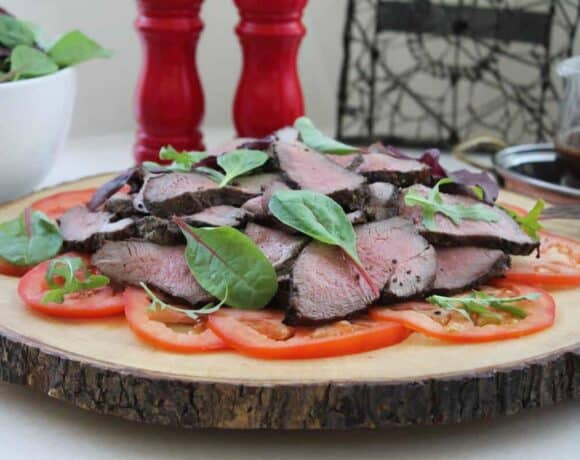Spicy Grilled Leg of Lamb #SundaySupper