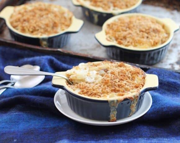 Swedish Creamy Potato Casserole (Jansson's Frestelse) #SundaySupper