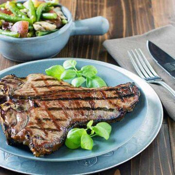 Grilled Porterhouse Steak