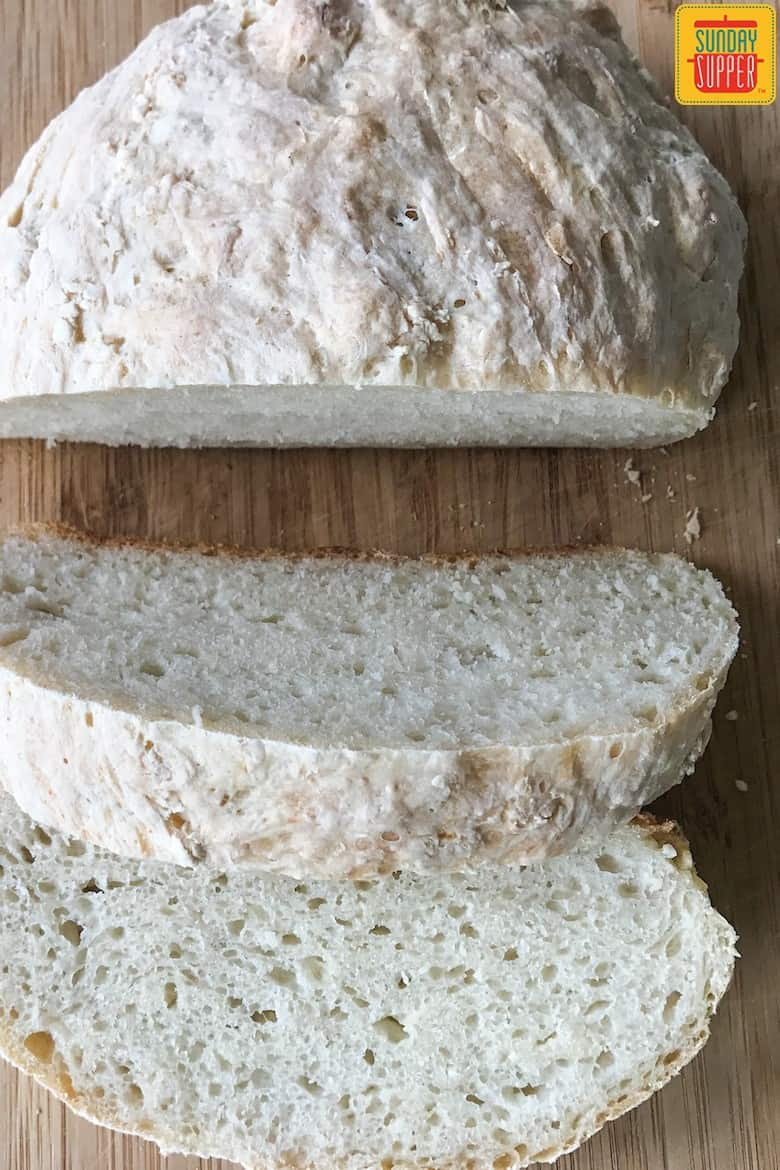 Peasant Bread Master Recipe #SundaySupper