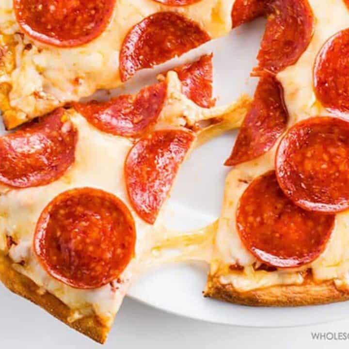 Hot Lunch Ideas - Pizza Crust Recipe