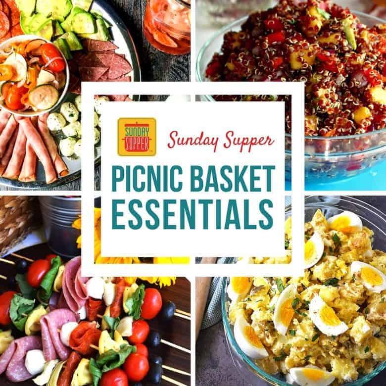 Picnic Basket Essentials #SundaySupper