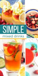 Save Simple Mixed Drinks on Pinterest