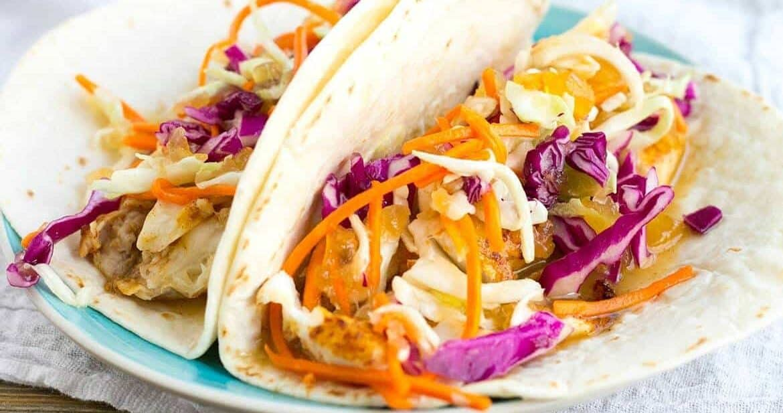 Easy Fish Taco Recipe #SundaySupper
