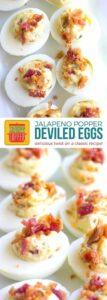 Jalapeno Popper Deviled Eggs on Pinterest