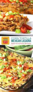 Mexican Lasagna with Corn Tortillas