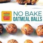 No Bake Oatmeal Bars Pinterest