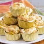Pumpkin Cream Cheese Muffins #SundaySupper