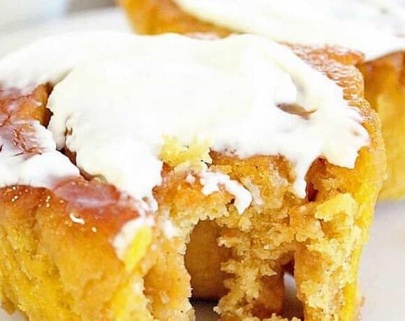 Best Gluten Free Cinnamon Rolls with Pumpkin