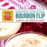 Bourbon Flip #SundaySupper