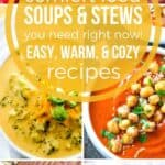 Comfort Food Soup and Stew Recipes on Pinterest