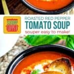 Roasted Red Pepper Tomato Soup on Pinterest