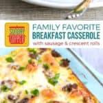 Sausage Breakfast Casserole with Crescent Rolls on Pinterest
