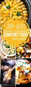 Slow Cooker Comfort Food Recipes #SundaySupper