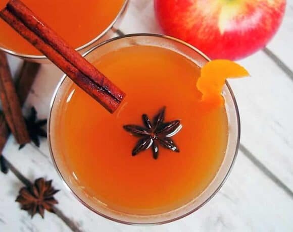 Spiked Mulled Cider #SundaySupper