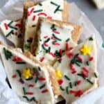 White Chocolate Christmas Crack #SundaySupper