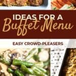 Buffet Menu Ideas Pin Image