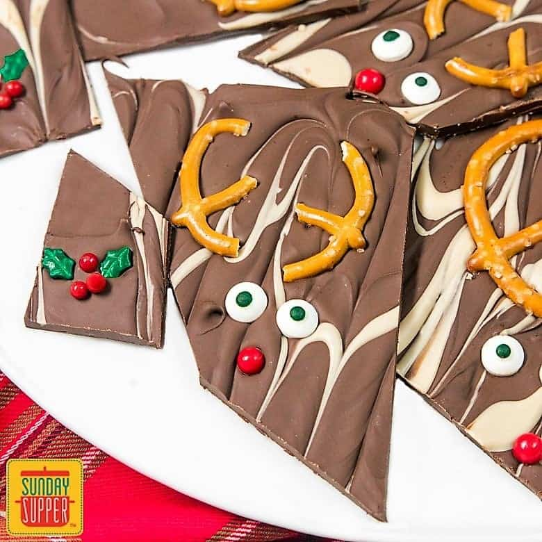 Christmas Bark Recipe on Pinterest