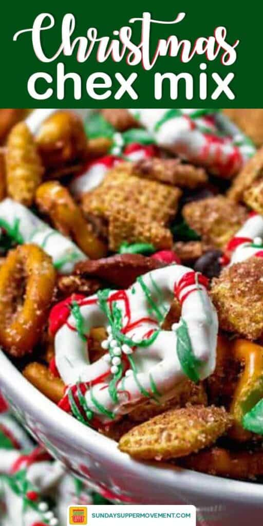 chex mix recipe image pin