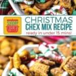 Christmas Chex Mix Recipe on Pinterest