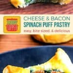 Spinach Puff Pastry on Pinterest