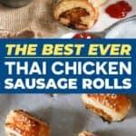 Save Chicken Sausage Rolls on Pinterest