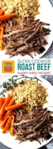 Easy Slow Cooker Roast Beef Recipe on Pinterest