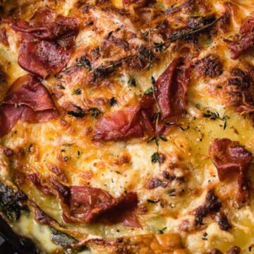 Healthier Make Ahead Lasagna to Freeze