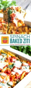 Spinach Baked Ziti on Pinterest