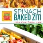 Spinach Baked Ziti on Pinterest