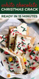 white chocolate christmas crack pin image