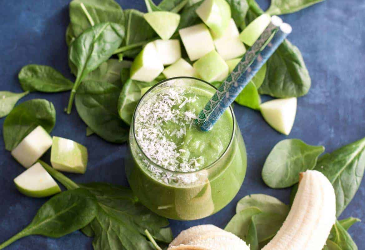 A Healthy Green Breakfast Smoothie is a great way to start the day, especially when you're short on time. It takes just a few minutes to throw all the ingredients together for a quick and nutritious breakfast.