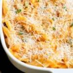 Sweet Potato Mac and Cheese Casserole