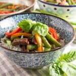 Asian Beef Stir Fry Recipe with Green Beans