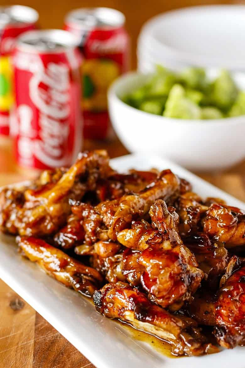 Coca-Cola Oven Baked Chicken WIngs