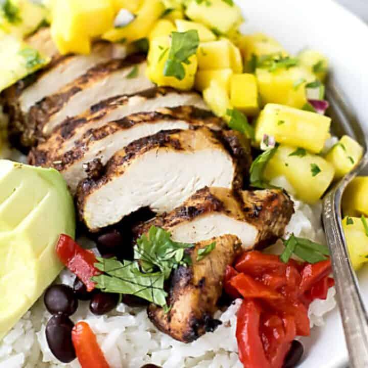Healthy Rice Bowls #SundaySupper