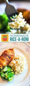 Homemade Rice-A-Roni Gluten Free